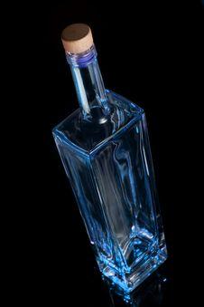 Free Blue Bottle Stock Image - 9420261