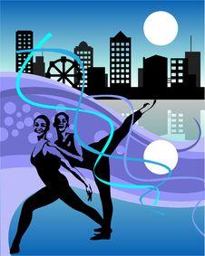 Free Dancer Royalty Free Stock Image - 9420516