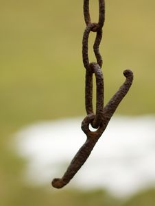 Free Old Chain Stock Photography - 9421012