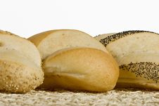 Free Artisan Loafs In A Row Royalty Free Stock Photo - 9421075