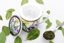 Free Cup For Herbs. Stock Photos - 9421153