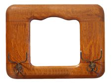 Antique Picture Frame / Hat Rack Royalty Free Stock Photo