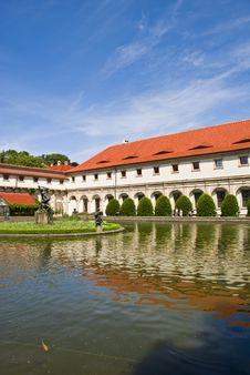 Free Valdstejn Palace In Prague Stock Images - 9422034