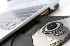 Disc Drive Royalty Free Stock Photography