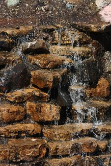 Free Water Cascading Royalty Free Stock Images - 9424029
