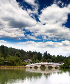 Free A Scenery Park Near Lijiang Royalty Free Stock Images - 9424079