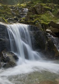 Free Mountain Stream Royalty Free Stock Image - 9425036