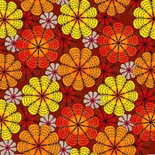 Free Spring Flower Pattern Royalty Free Stock Image - 9425056
