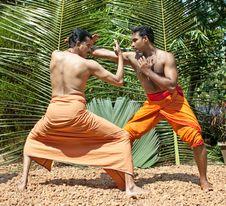 Free Kalarippayat, Ancient Martial Art Of Kerala Royalty Free Stock Photos - 9426298