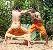 Free Kalarippayat,   Ancient Martial Art Of Kerala Royalty Free Stock Image - 9426316