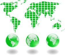Free Green World Royalty Free Stock Photo - 9426385