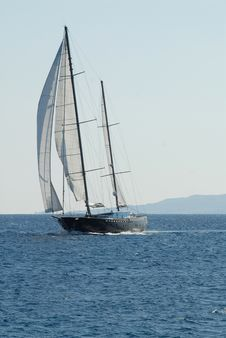 Free Sailing Boat Royalty Free Stock Image - 9427536