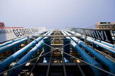 Free Pompidou Exterior Stock Photo - 9427590