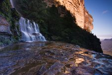 Free Mountain Waterfall Stock Image - 9428521