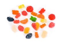 Free Sweet Candies, Colorful Jelly Candy Royalty Free Stock Photography - 9429697