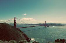 Free Golden Gate Bridge Under Clear Blue Sky Royalty Free Stock Image - 94243746
