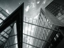 Free Modern Buildings Royalty Free Stock Image - 94244126