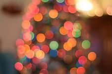 Free Defocused Image Of Illuminated Christmas Tree Stock Photos - 94244133