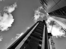 Free High Rise Building With Crane Stock Photos - 94244163