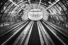 Free Subway Escalator Royalty Free Stock Images - 94244169