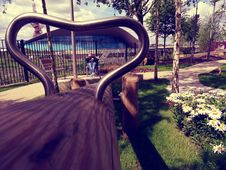 Free Park Bench Royalty Free Stock Photos - 94244278