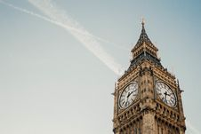 Free Low Angle View Of Clock Tower Against Sky Royalty Free Stock Image - 94244416