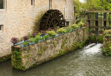 Free Watermill Bayeux Stock Image - 94244701