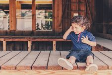 Free People, Photograph, Sitting, Child Royalty Free Stock Images - 94249689