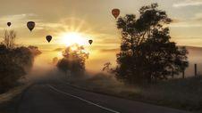 Free Road, Sky, Morning, Sunrise Royalty Free Stock Image - 94257516