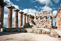Free Temple At Selinunte Stock Image - 9431481