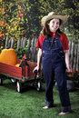 Free Farm Girl Stock Image - 9433301