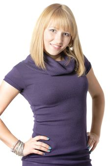 Free Blond Girl Royalty Free Stock Photography - 9430347