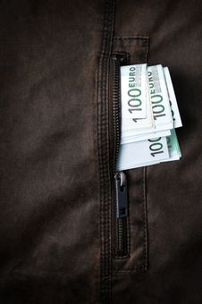 Free Money In The Pocket Royalty Free Stock Images - 9430549