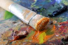 Free Paintbrush Royalty Free Stock Photo - 9430835