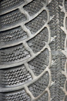 Tire Pattern Royalty Free Stock Photo