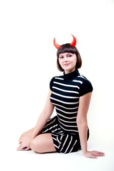 Free Devil Woman Stock Images - 9434014