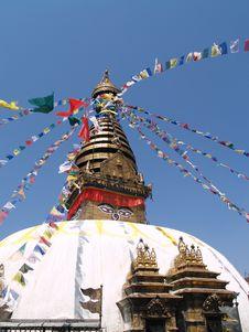 Free Nepalese Stupa Stock Photography - 9434112