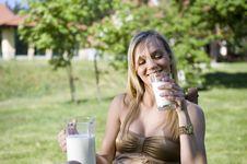 Free Milk Stock Images - 9435324