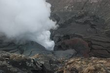 Free Hazard Smoke Bromo Volcano, Mountains Java, Asia Stock Image - 9435561