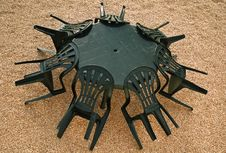 Free Table And Chairs Stock Photos - 9435613
