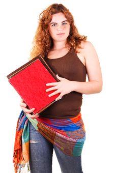 Free Schoolgirl Wit Books. Stock Image - 9435831