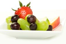 Free Fruit Plate Stock Images - 9436144
