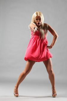 Free The Dancer Stock Photography - 9436292