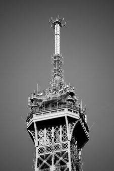 Free Eiffel Tower Detail Royalty Free Stock Photography - 9436357