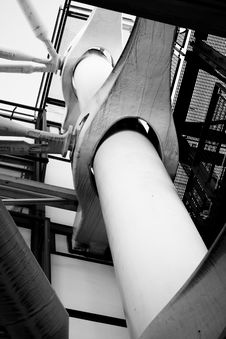 Free Pompidou Detail Stock Image - 9437011