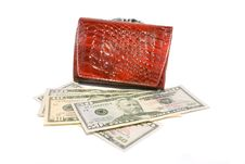 Free Money And Purse Royalty Free Stock Images - 9438749