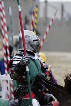 Free Knight On Horseback Royalty Free Stock Photography - 9439557