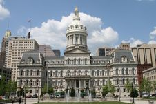 Free Baltimore City Hall Stock Images - 94313834