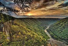 Free New River Gorge National River Stock Photography - 94313942