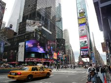 Free Times Square New York City Stock Photography - 94313952